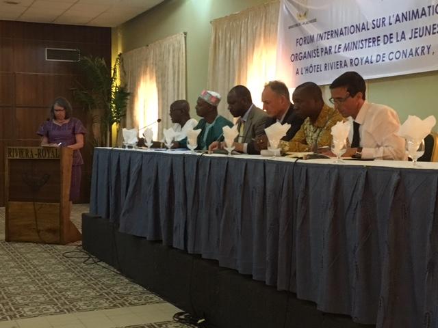 Le forum de l'action socio-éducative en Guinée