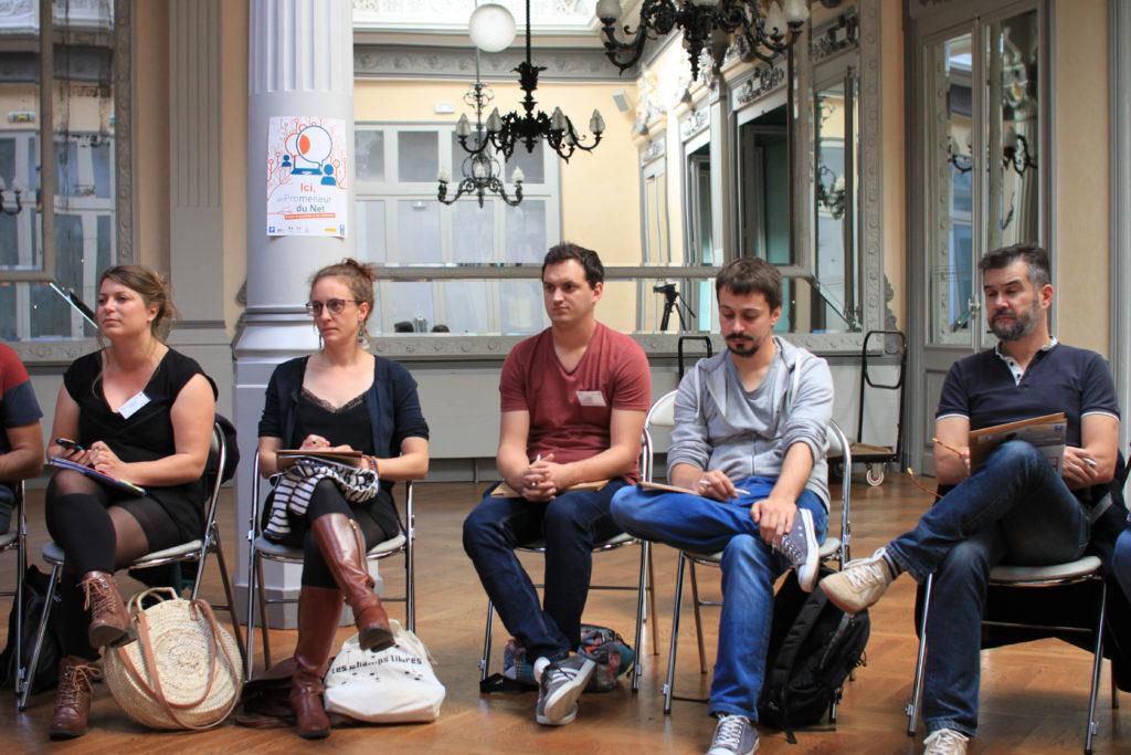 Journée de lancement - Les promeneurs du net