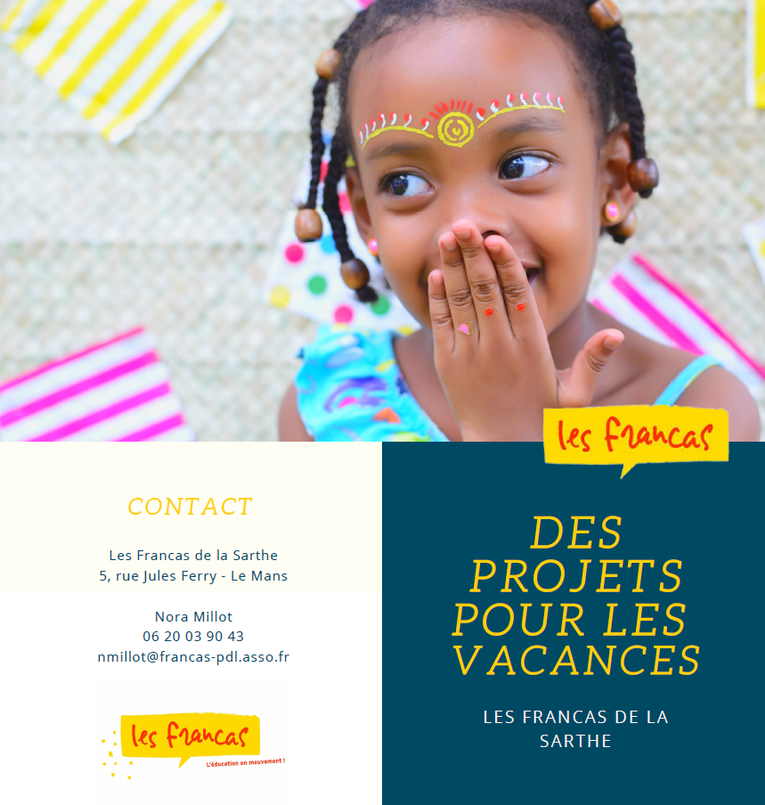 Francas 72 - Projets Vacances 2020 - Flyer 1