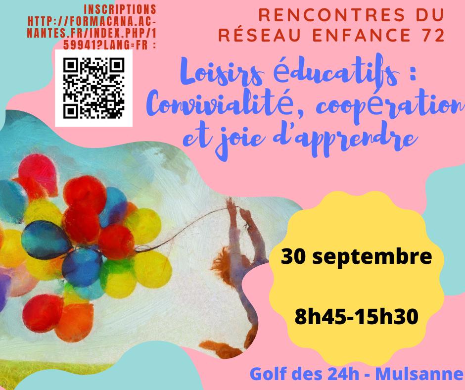21.09 - Invitation réseau enfance sept 2021